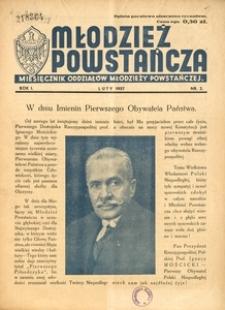 Młodzież Powstańcza, 1937, R. 1, nr 2