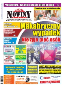 Nowiny Nyskie 2018, nr 37.