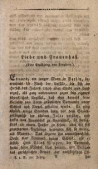 Der Fuchs auf Reisen, 1812, Nro 2