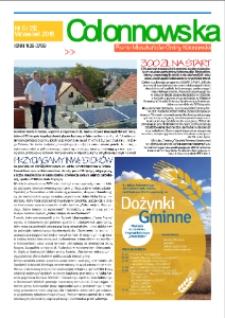 Colonnowska : pismo mieszkańców Gminy Kolonowskie 2018, nr 5 (212).
