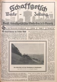 Schaffgotsch Werks-Zeitung, 1934, Jg. 2, nr 23