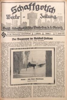 Schaffgotsch Werks-Zeitung, 1935, Jg. 3, nr 4