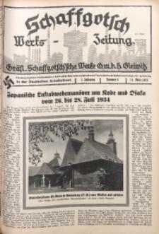 Schaffgotsch Werks-Zeitung, 1935, Jg. 3, nr 6