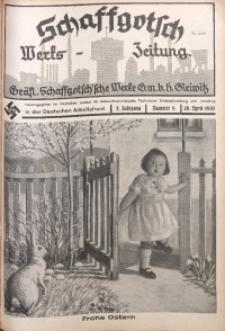Schaffgotsch Werks-Zeitung, 1935, Jg. 3, nr 8