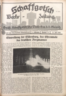 Schaffgotsch Werks-Zeitung, 1936, Jg. 4, nr 14