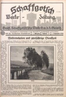 Schaffgotsch Werks-Zeitung, 1936, Jg. 4, nr 18