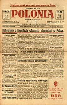 Polonia, 1929, R. 6, nr 10