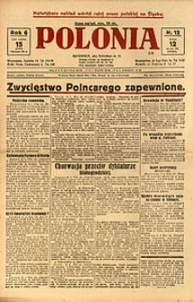 Polonia, 1929, R. 6, nr 12