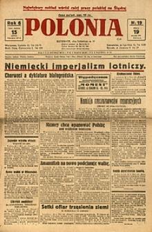 Polonia, 1929, R. 6, nr 19