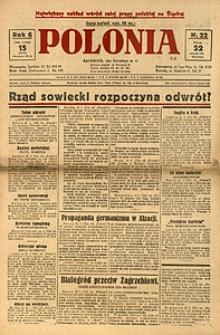 Polonia, 1929, R. 6, nr 22