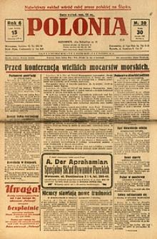 Polonia, 1929, R. 6, nr 30