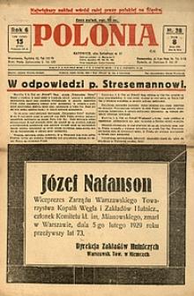 Polonia, 1929, R. 6, nr 38