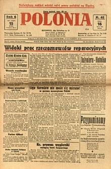 Polonia, 1929, R. 6, nr 46