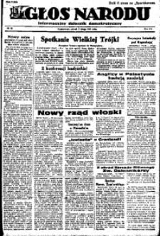 Głos Narodu, 1947, R. 3, nr 29