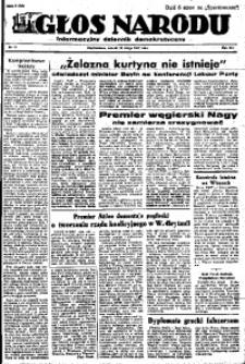 Głos Narodu, 1947, R. 3, nr 41