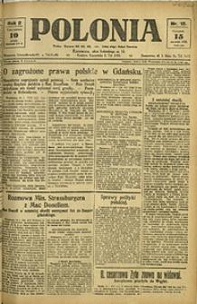 Polonia, 1925, R. 2, nr 15