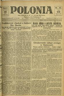 Polonia, 1925, R. 2, nr 23