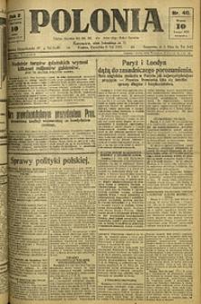 Polonia, 1925, R. 2, nr 40