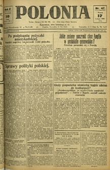 Polonia, 1925, R. 2, nr 47