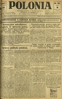 Polonia, 1925, R. 2, nr 92