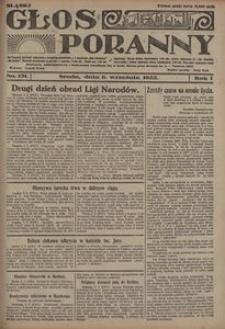 Głos Poranny, 1922, R. 1, nr 131