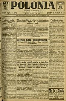Polonia, 1925, R. 2, nr 143
