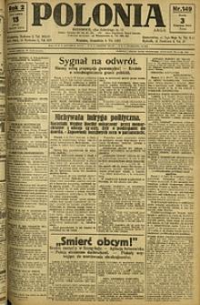 Polonia, 1925, R. 2, nr 149