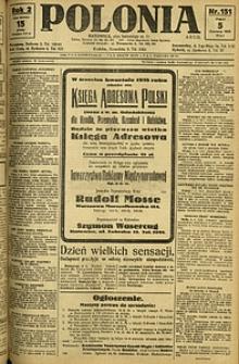 Polonia, 1925, R. 2, nr 151