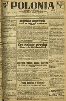 Polonia, 1925, R. 2, nr 155