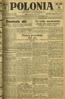 Polonia, 1925, R. 2, nr 158