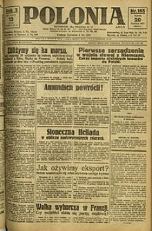 Polonia, 1925, R. 2, nr 165