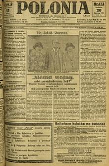 Polonia, 1925, R. 2, nr 173