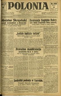 Polonia, 1925, R. 2, nr 209