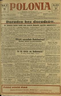 Polonia, 1925, R. 2, nr 354