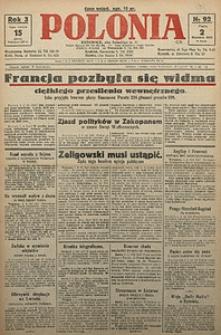 Polonia, 1926, R. 3, nr 93