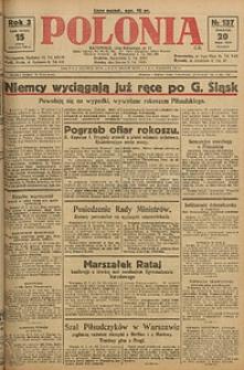Polonia, 1926, R. 3, nr 137