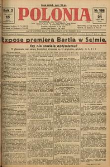 Polonia, 1926, R. 3, nr 198