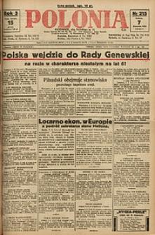 Polonia, 1926, R. 3, nr 215