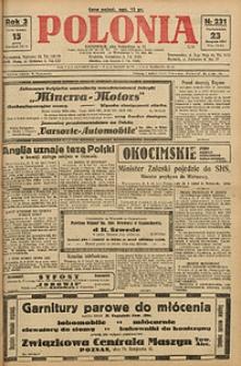 Polonia, 1926, R. 3, nr 231