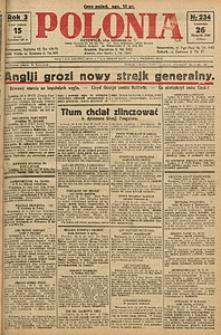 Polonia, 1926, R. 3, nr 234