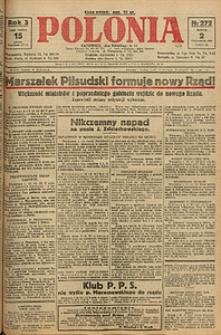 Polonia, 1926, R. 3, nr 272