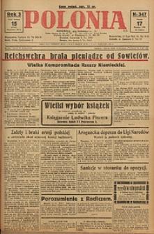Polonia, 1926, R. 3, nr 347
