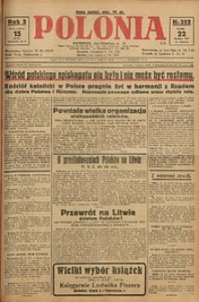 Polonia, 1926, R. 3, nr 352