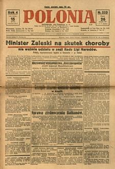 Polonia, 1927, R. 4, nr 233