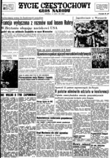 Życie Częstochowy, 1947, nr 16