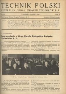 Technik Polski, 1936, R. 3, nr 2/3