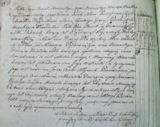 Metryka chrztu Teodora Heneczka z 1817 r.