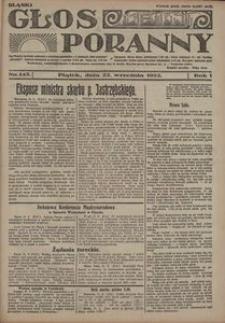 Głos Poranny, 1922, R. 1, nr 145