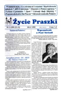 Życie Praszki 1999, nr 1-2 (21-22).