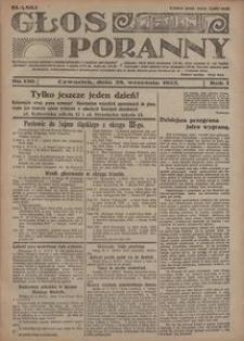 Głos Poranny, 1922, R. 1, nr 150